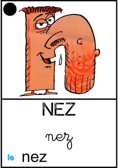 Le nez Drawing Conclusions, Practical Gifts, Teaching, Activities, Kids, Sons, Educational Activities, Alpha Letter, France