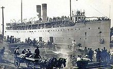 SS Eastland (United States) – On 24 July 1915, while moored to the dock in the Chicago River, the capacity load of passengers shifted to the river side of the ship causing it to roll over, killing 845 passengers and crew.