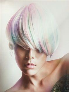Light pastel hair