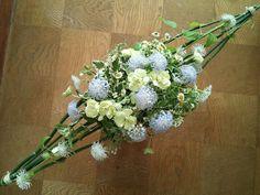 水平な花束
