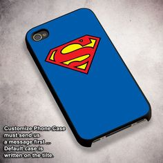 Superman Clothes - For iPhone 4/ 4S/ 5/ 5S/ 5SE/ 5C/ 6/ 6S/ 6 PLUS/ 6S PLUS/ 7/ 7 PLUS Case And Samsung Galaxy Case