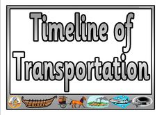 Introduction to the #timeline of the inventions of various #transport vehicles during the course of #history