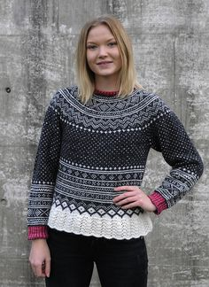 Ravelry: Setesdal love med rundfelling pattern by Nina Granlund Sæther