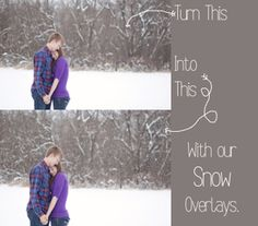 Image of The Magic of Snow Overlays