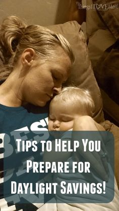 Tips to Help you Prepare for Daylight Savings - The Things I Love Most