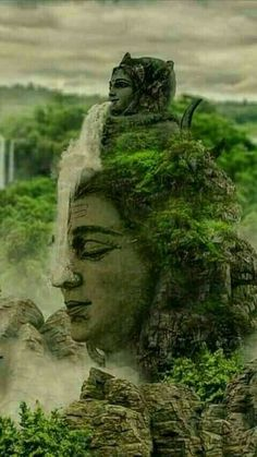 Jun 25, 2020 - This Pin was discovered by Aj Ashwani. Discover (and save!) your own Pins on Pinterest. Lord Shiva Statue, Lord Shiva Pics, Lord Shiva Hd Images, Lord Shiva Family, Lord Vishnu, Rudra Shiva, Mahakal Shiva, Shiva Art, Krishna Krishna