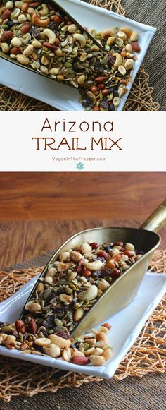 Sweet and Salty Arizona Trail Mix is an abundant variety of nuts and seeds. Snack, road trip and trail ready it will keep you going for a long time.