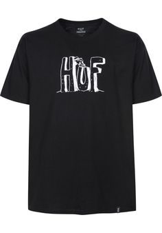 HUF Spike-Huf-Block-Letters - titus-shop.com  #TShirt #MenClothing #titus #titusskateshop