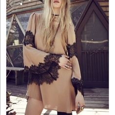 FL&L Festival Dress For Love and Lemons Festival Mini Dress. New, the tag with the brand is falling off at the neckline but there is one inside the dress with the brand as well. For Love and Lemons Dresses