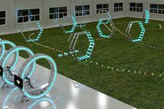 DJI åpner innendørs arena for droner i Sør-Korea - http://www.nybrott.no/drone/dji-apner-innendors-arena-droner-sor-korea/
