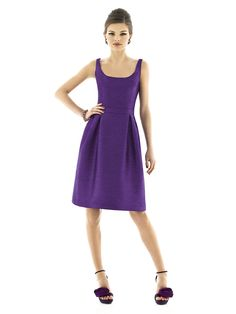 Alfred Sung Style D564  #purple #bridesmaid #dress
