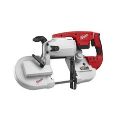 0729-20 Milwaukee M28 Band Saw (tool only):  The Milwaukee 0729 Cordless M28™ Portable Band Saw uses a high powered Milwaukee built motor to deliver optimal cutting speed and performance.  (Click the image to see our lower than manufacture price)