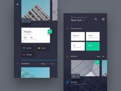 UI exercises #1/100 Recruitment AppJadon7app,blog,clean,colors,grid,minimalism,browser,type,typography