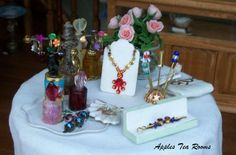 Mini objects for a lady's vanity!