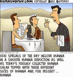 I kinda think this is funny. Christian Comics, Christian Cartoons, Funny Christian Memes, Christian Humor, Church Memes, Church Humor, Catholic Memes, Church Signs, Bible Jokes