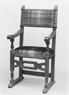 Pair of armchairs | possibly Spanish | The Met