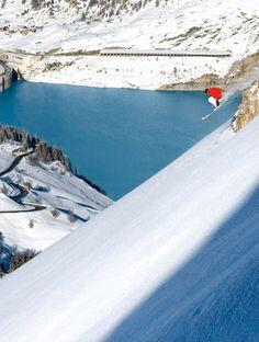 Les pistes de ski les plus dangereuses Tignes