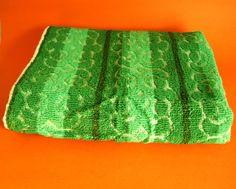 Palm Beach Psychedelic Mod Beach Towel - Vintage Retro Bright Green Bath Sheet - Groovy - Made in Australia - Brand New! by FunkyKoala on Etsy