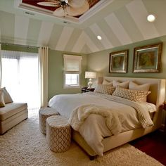 Bedroom sloped ceiling Design Ideas, Pictures, Remodel and Decor