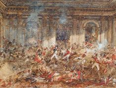 The storming of the Tuileries by Joseph Navlet