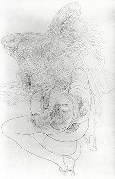 Hans Bellmer drawings