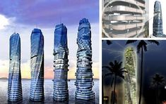 Rotating Tower in Motion, a 68 story tower by architect David Fisher