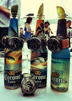 Excellent choice in watches... unfortunately not the same for beer.