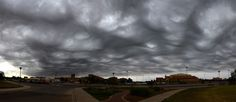 An Asperitas formation over Lubbock, Texas, US.