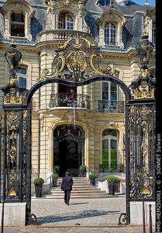 7 Champs Elysées, roundabout, Paris VIII