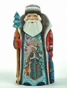 "Скульптура ""Дед Мороз и Снегурочка"""
