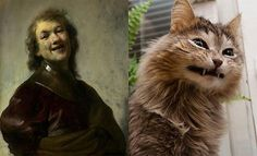 separated at birth.....Cat Art (8)