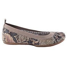 These might be comfortable enough for the streets of NY-such a cute print! I wouldn't mind these in leopard print or a pale pink too!Yosi Samra Women's Samara Serpent Beige-size 6.5-LOVE these!!!!