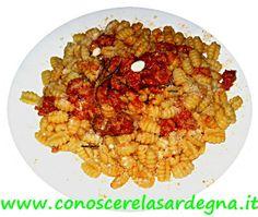 cucina sarda gnocchetti con sugo di pulpedda ricetta primi piatti sardegna ricette facili