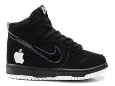 size 40 0c8b6 b4185 Nike Dunk High Apple V Black White