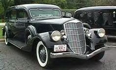 1934 Pierce Arrow Henney Arrowline Hearse