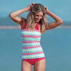 Modest swimwear that is cute AND slimming. I just ordered mine yesterday!!!?