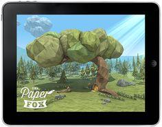 The Paper Fox - App on Behance