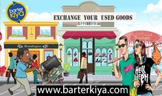 Users can list their products for free on Barterkiya.com Now you can exchange your second hand goods through Barterkiya.com