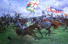 The Battle of Bosworth by Graham Turner