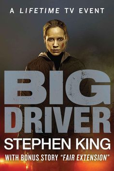 """Read """"Big Driver"""" by Stephen King available from Rakuten Kobo. Now a Lifetime original movie, Stephen King's haunting story about an author of a series of mystery novels who tries to . Haunting Stories, Stephen King Movies, Creepy Movies, Steven King, Great Novels, Mystery Novels, Book Signing, Film Music Books, Good Books"""