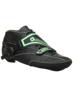 Bont Enduro Inline Speed Boots Black/Green Inline Speed Skates, Inline Skating, Roller Skating, Rollers, Hot Springs, Carbon Fiber, Black Boots, Snug, Green