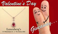 Valentine's Day Giveaway. Today through the 14th come into either of our two locations and enter to win this beautiful KW Black Label necklace. Winner will be drawn on Valentine's Day. Luxenberg's... We want to be your Jeweler! www.luxenbergs.com