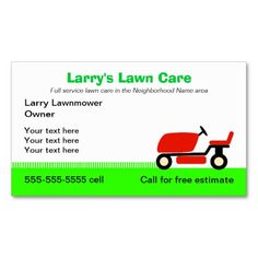 93 best lawn care landscaping business cards ideas images on lawn care services business card friedricerecipe Image collections