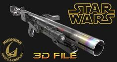 3D Print File - E-11D Blaster Kit Star Wars Cosplay - Lifesize E 11 Blaster, Dark Empire, Sci Fi Weapons, Special Forces, Best Cosplay, Clone Wars, For Stars, Tmnt