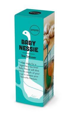 Baby Nessie helpt jou om de lekkerste thee te maken met verse kruiden.
