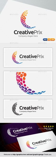 Creative Prix Logo Design Template Vector #logotype Download it here: http://graphicriver.net/item/creative-prix/9904957?s_rank=1300?ref=nexion