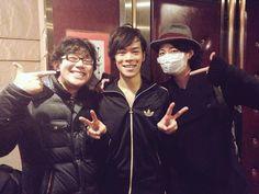 Yuki Ono, Kensho Ono, Ryohei Kimura ... Kuroko recording? Posted by kensho ono (Dec 2014)