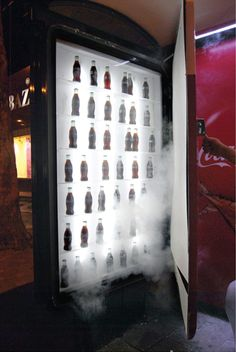 Coca-Cola: Refrigerator in a Bus Shelter | Creative Criminals