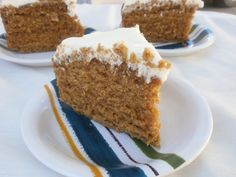 Buckwheat Honey Cake with Honey Buttercream Frosting. All kinds of yum!