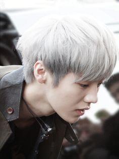 Luhan - Silver Hair